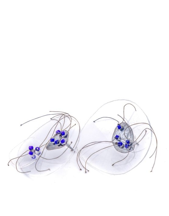 Blue earrings S