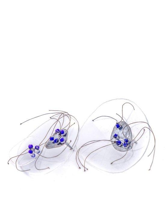 Blue earrings S