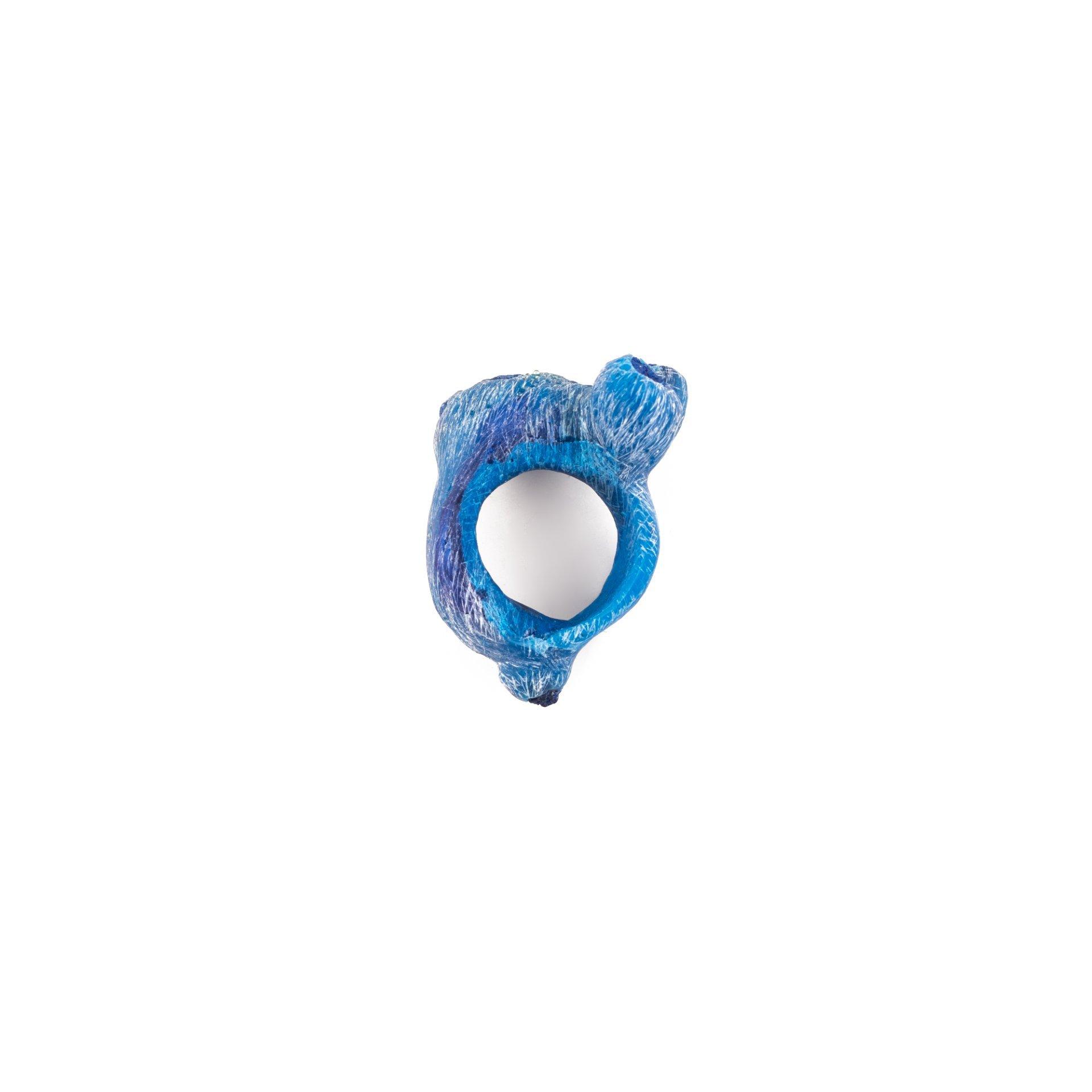 RESIN INTERMEZZO - AZURITE RING NO.1
